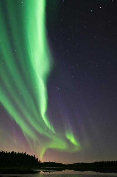 Aurora Borealis at Kalimenlampi X