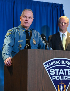 Governor Baker and Colonel Mason Press Event at SPA - 01.16.2020