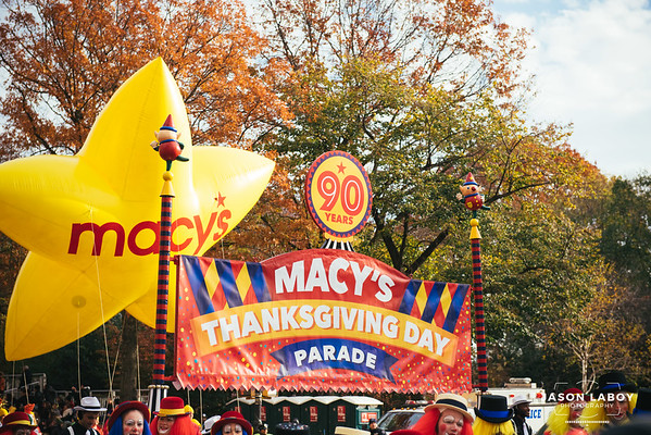 Macy's Thanksgiving Day Parade 90th Anniversary