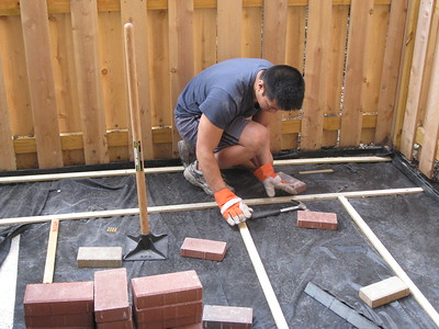 Do-it-yourself Patio Building