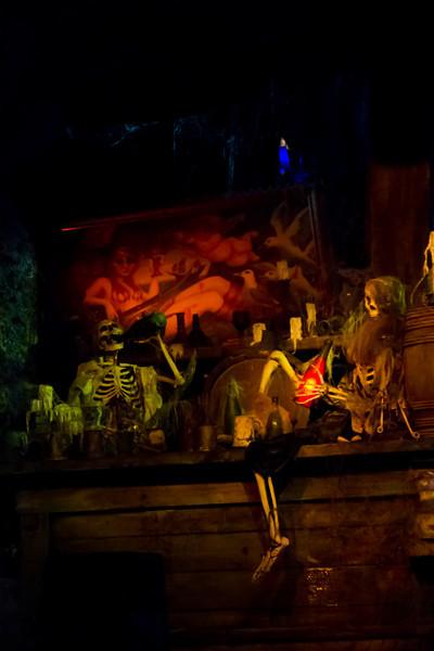 Pirates Of The Carribean Ride @ Disneyland