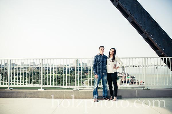 Desiree & Brett Creative Wedding Photos