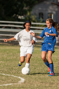 2012 PHS JV Girls Soccer vs CAL
