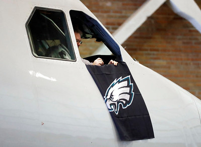 PHOTOS: The Eagles have landed