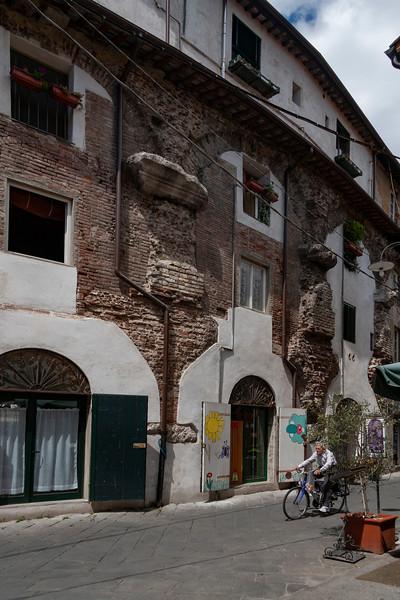 Lucca Ampitheatre Walls