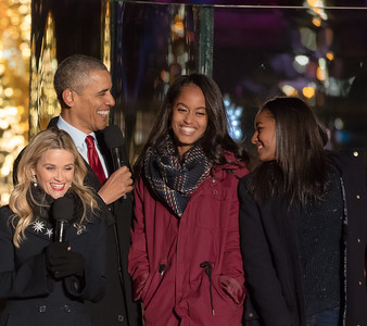 National Tree Lighting with President Obama (2015)