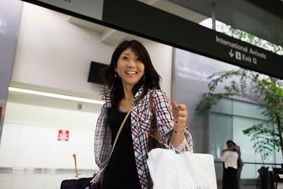 Saori's Visit to California (September 2015)