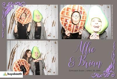Allie + Brian - Photo Booth