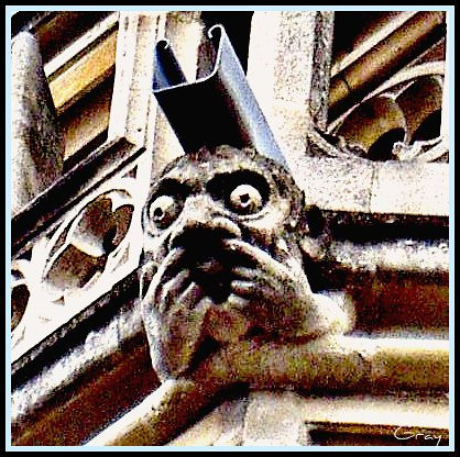 Gargoyle 3. London  A most opinionated fellow