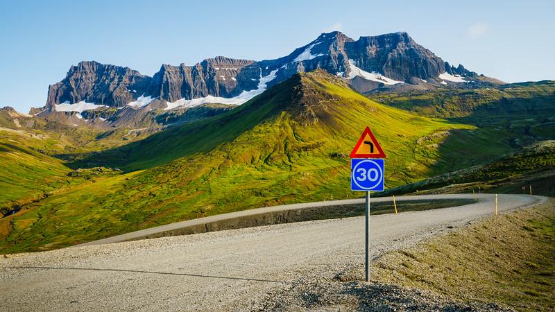 Road to  Borgarfjörður  Eystri