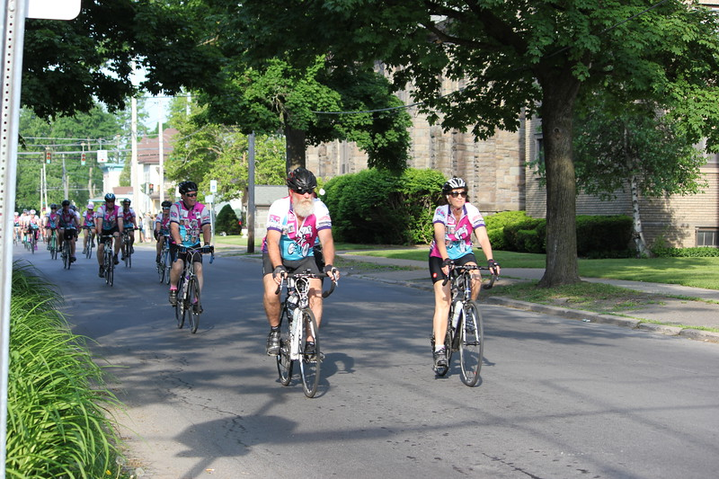 Charles Pritchard - Oneida Daily Dispatch The Ride for Missing Children makes its way through Oneida and starting the 80 mile journey on Friday, June 1, 2018.