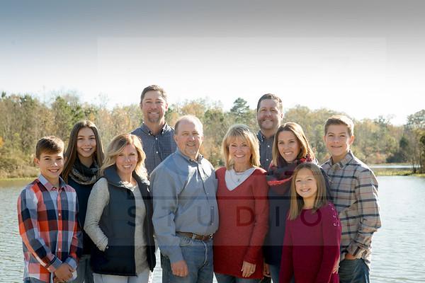 Marshall, Callendar, Rabalais Family 2017
