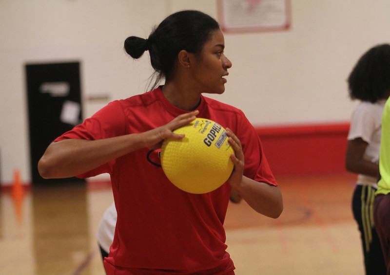 PHEMA hosts dodgeball tournament in Bost gym Thursday.