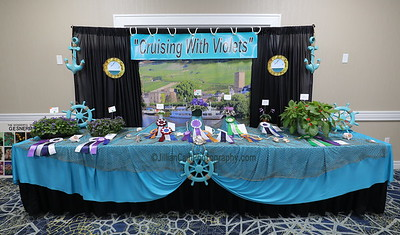 Dixie African Violet Society, Cruising with Violets, 2019