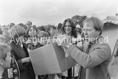 Grange School Fete, Sep 1980