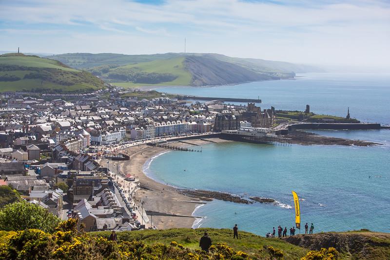 Aberystwyth is one amazing DH venue
