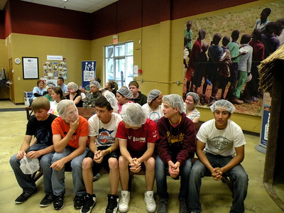 Service Day at Feed My Starving Children