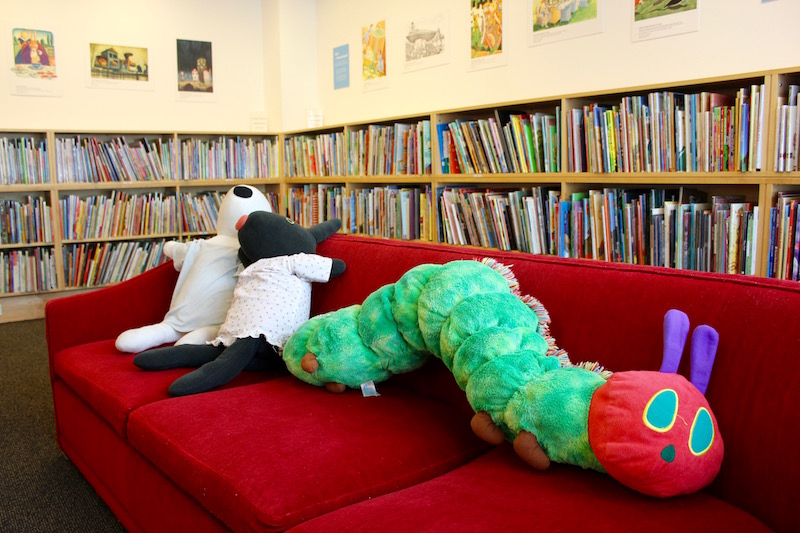 the Eric Carle Museum in Amherst, Massachusetts