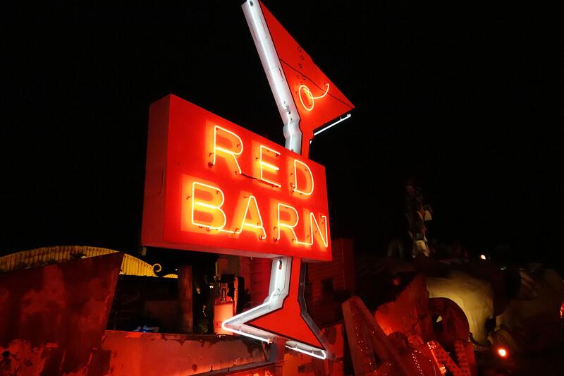 Red Barn, Las Vegas Photowalk