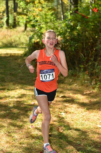 Girls JH 2019 Woods Trail Run 2019-10-05