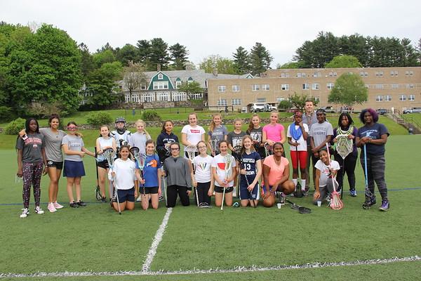 Harlem Lacrosse Visits RA