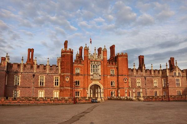 Hampton Court Palace June 2017