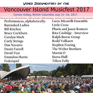 Vancouver Island Musicfest 2017