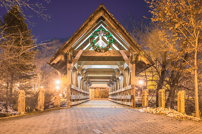 Naperville Riverwalk Winter