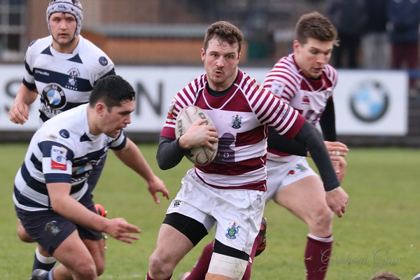 Heriot's Rugby Club v Watsonian FC