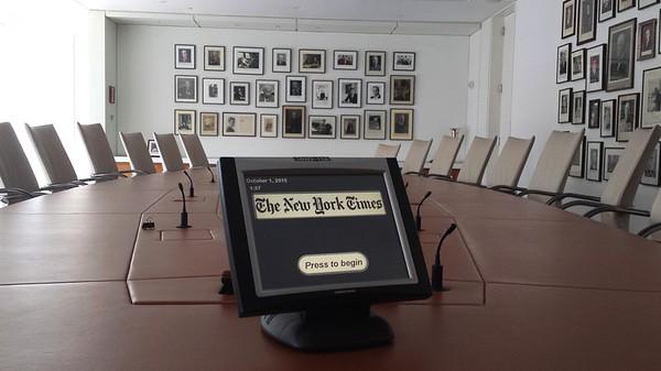 NY Times Board Room