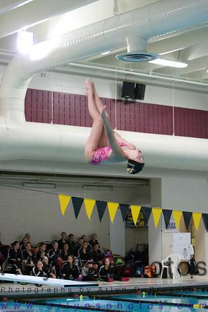 Hutch Girls Swimming vs Monticello