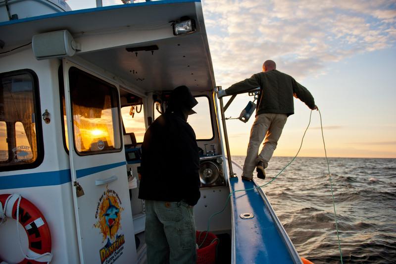 75. Bluefin tuna fishing aboard the Dantilu, Casco Bay, Maine 2010.