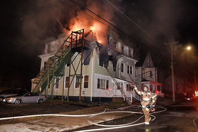 3 Alarm Structure Fire - 24 McKinley Ave, Norwich, CT - 3/31/19