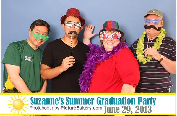 suzanne's graduation celebration