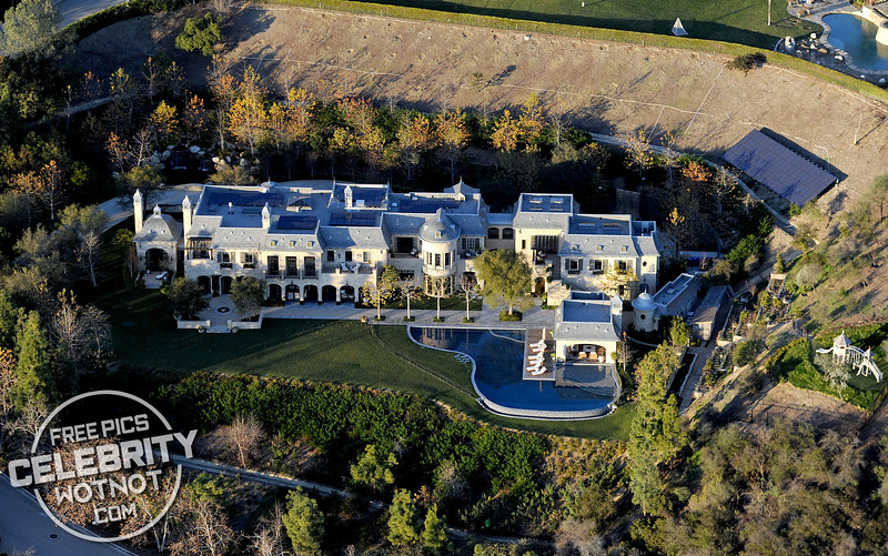Dr. Dre's LA Mansion which he purchased off Tom Brady for $40 Million