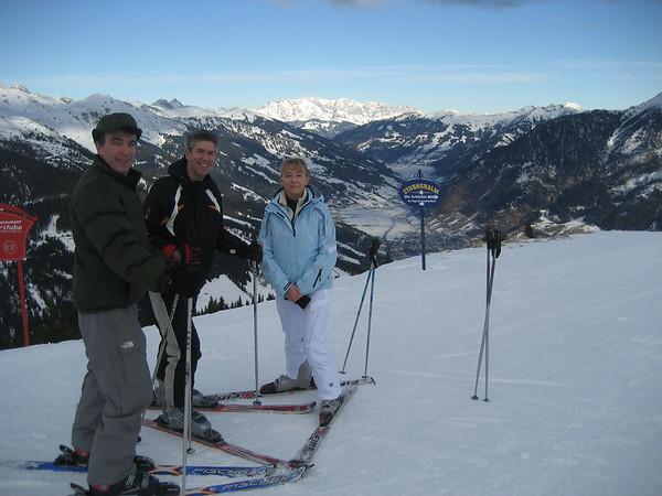 2008 December - Ski in Austria