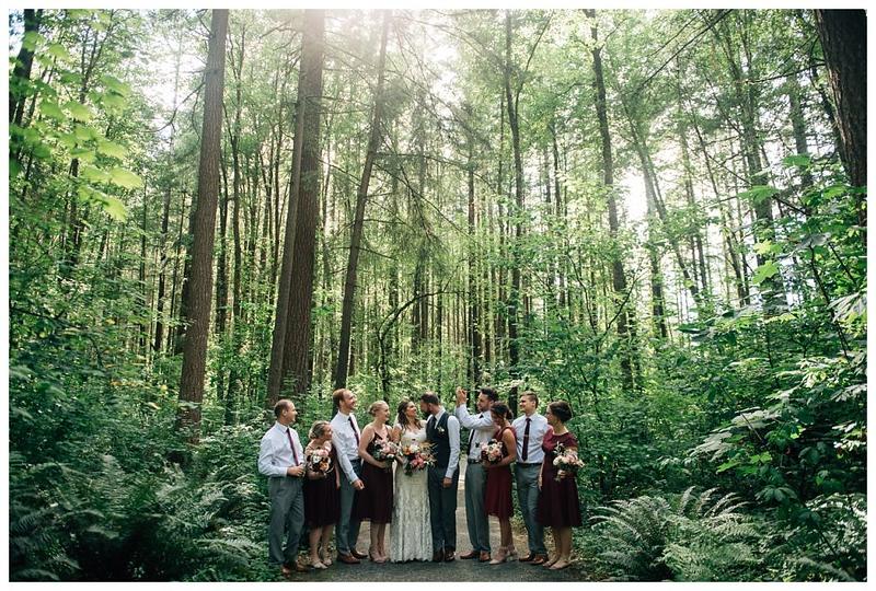 campbell valley park wedding park