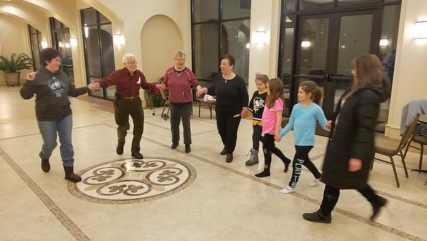 Community Life - Greek Dance Lessons - January 17, 2018
