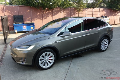 2016 Tesla Model X - P90D - Titanium Metallic