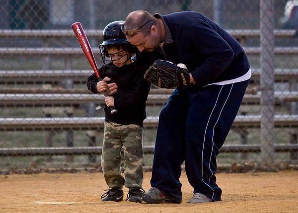 Baseball 2010 1st Practice