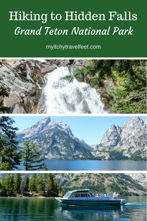 Tips for hiking to Hidden Falls in Grand Teton National Park, Wyoming.