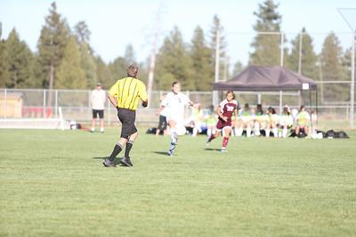 Outlaw Ladies Soccer vs Redmond 9-11-12
