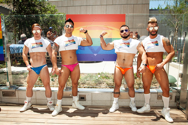 2018-06-09 - Masterbeat - LA Pride - SpLAash Pool Party