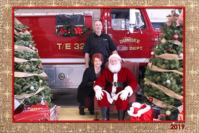 Dundee Fire Santa Photos