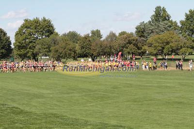 HS Girls Bronze Start - 2012 Spartan Invitational