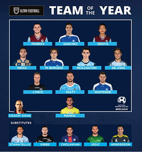 2018 0899 - FNSW NPL Club Champions & Team Of The Year