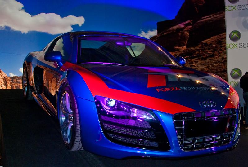 Forza 3 car at Igromir 2009