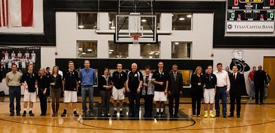Senior Night - Friars Basketball vs PCA 02.14.14