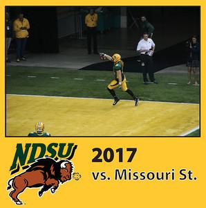 2017 NDSU vs Missouri State