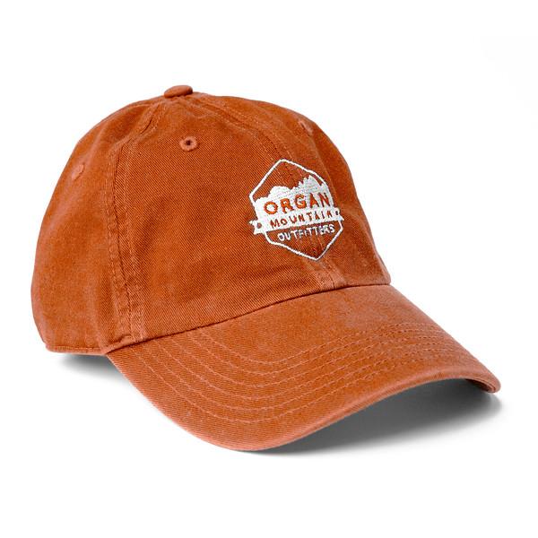 Outdoor Apparel - Organ Mountain Outfitters - Hat - Dad Cap Classic Logo - Orange.jpg